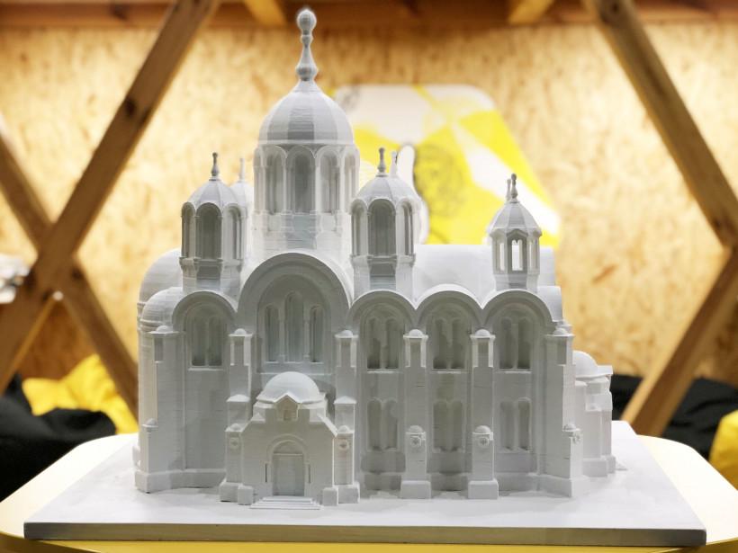Макет Володмирського собору для незрячих