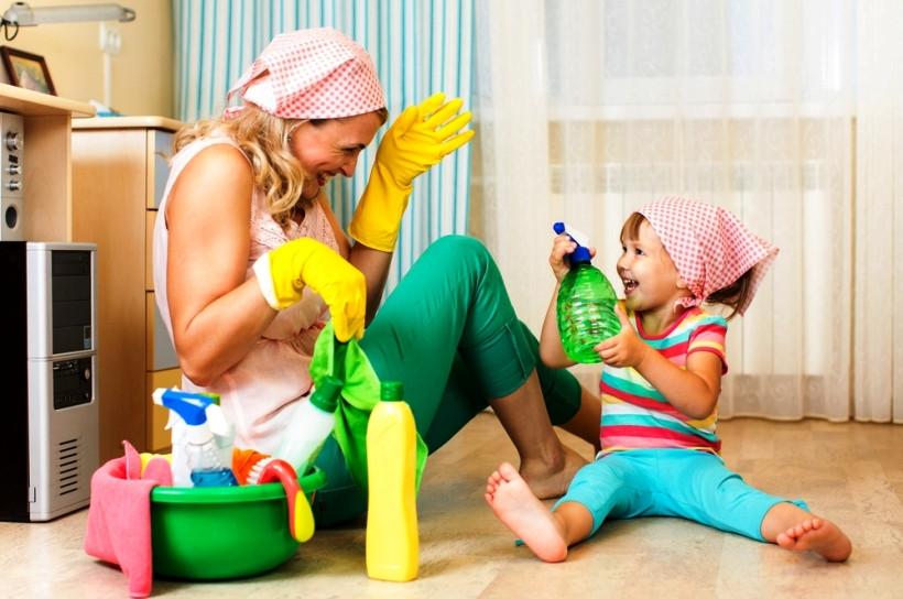 Бытовая химия и ребенок
