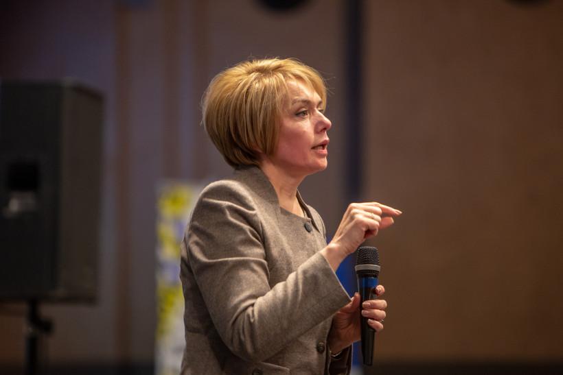 Лилия Гриневич на форуме лидерства