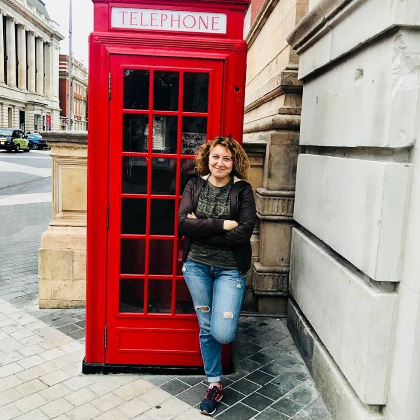 Татьяна Чернега, автор блогу British lover