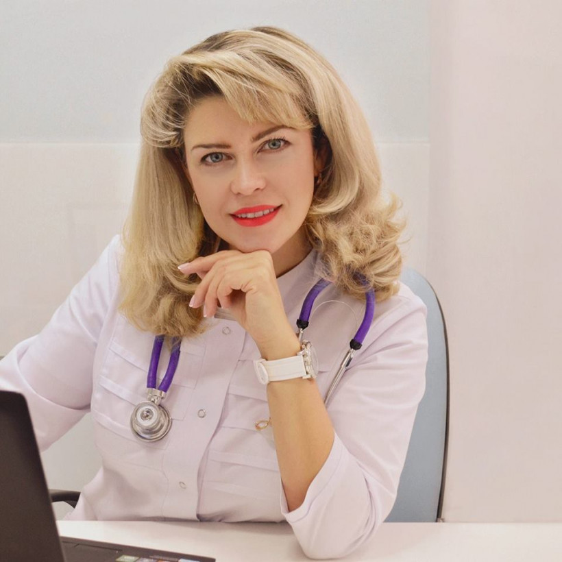 Врач-эндокринолог Александра Малкина