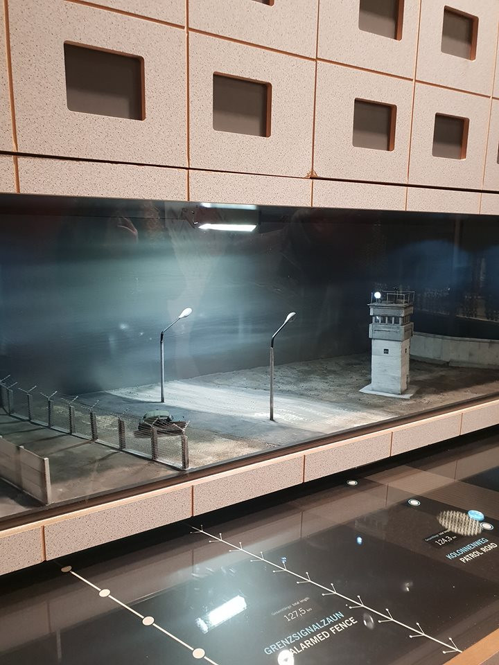 Музей ГДР в Берлине - макет стены
