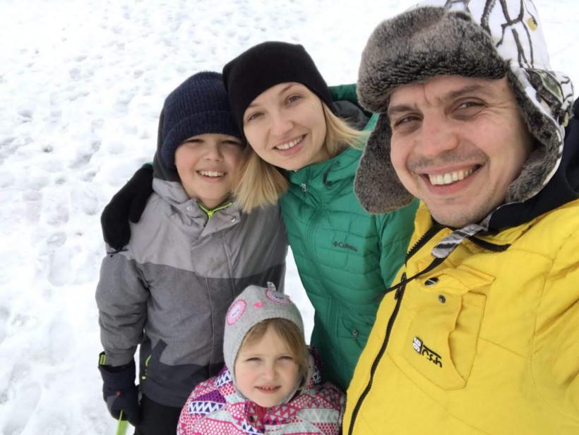 Семья Владимира и Елены