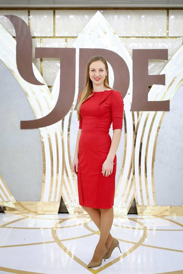 Ирина Савчук - HR-менеджер в Jacobs Douwe Egberts