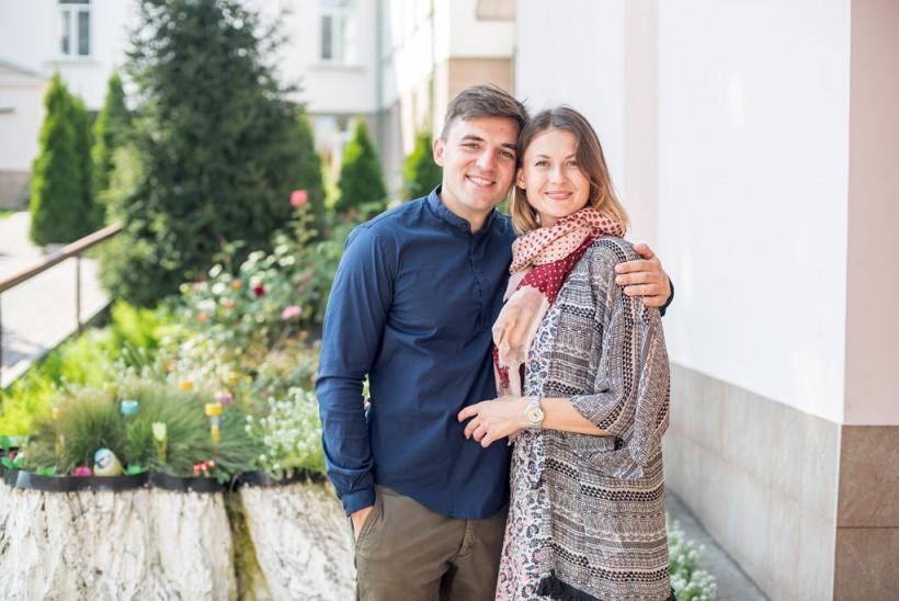 Оксана Кырий - тренер по большому теннису с мужем