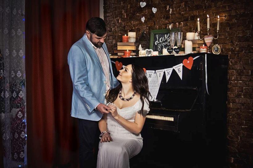 Анастасия Талько с мужем