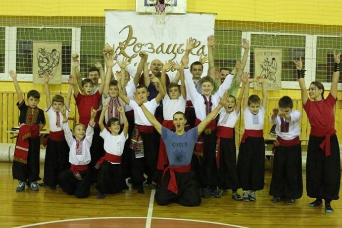 тарас лемешко с учениками