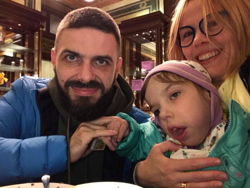 Илларион Павлюк з дружиною та донькою