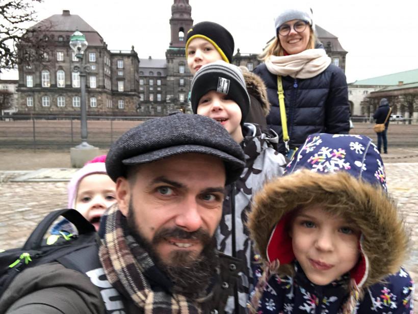 Илларион Павлюк и его семья