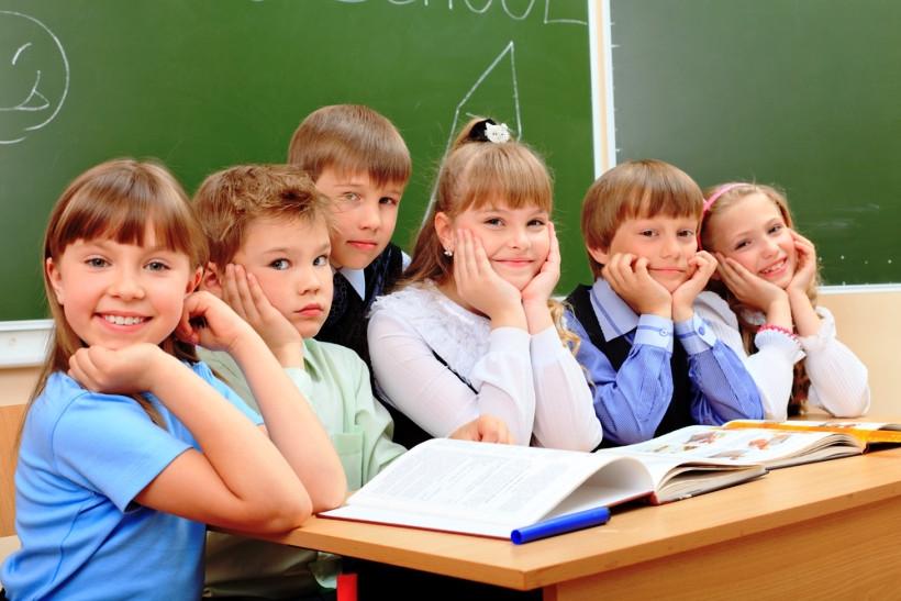 ученики в класе