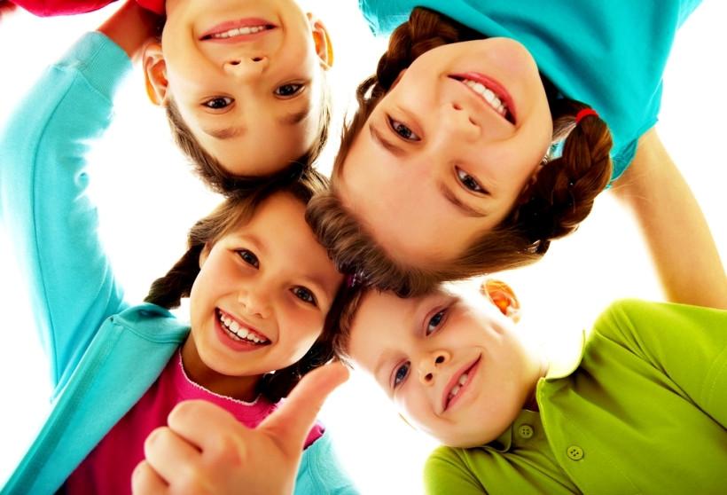 дети, эмоции радости