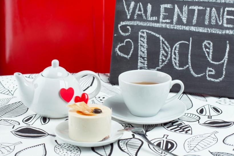 чай на день валентина