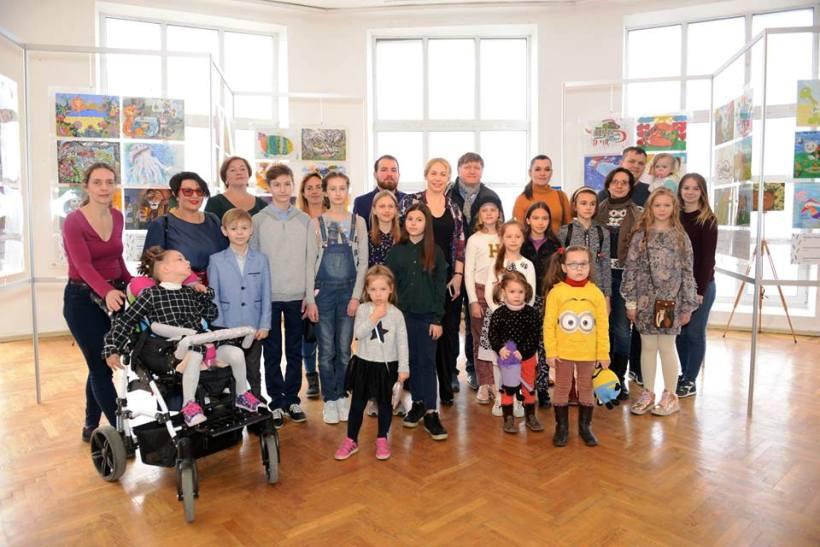 победители конкурса детских рисунков ROCKIT