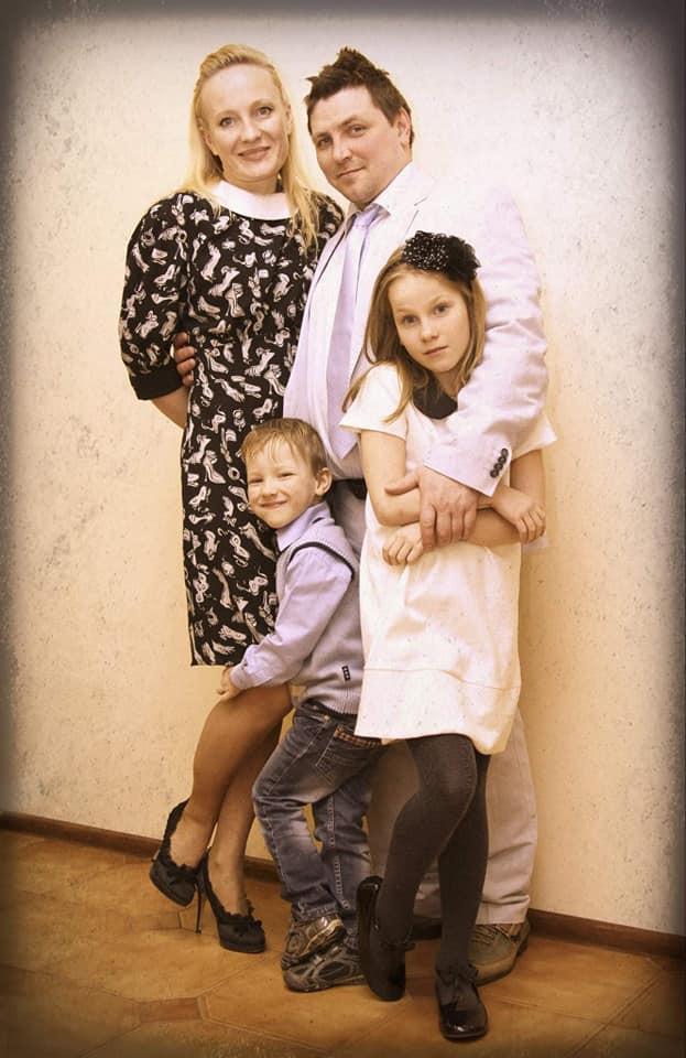 Врач Сергей Бакшеев и его семья