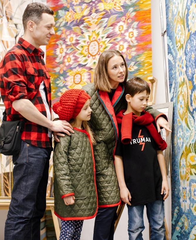 родина в музеї