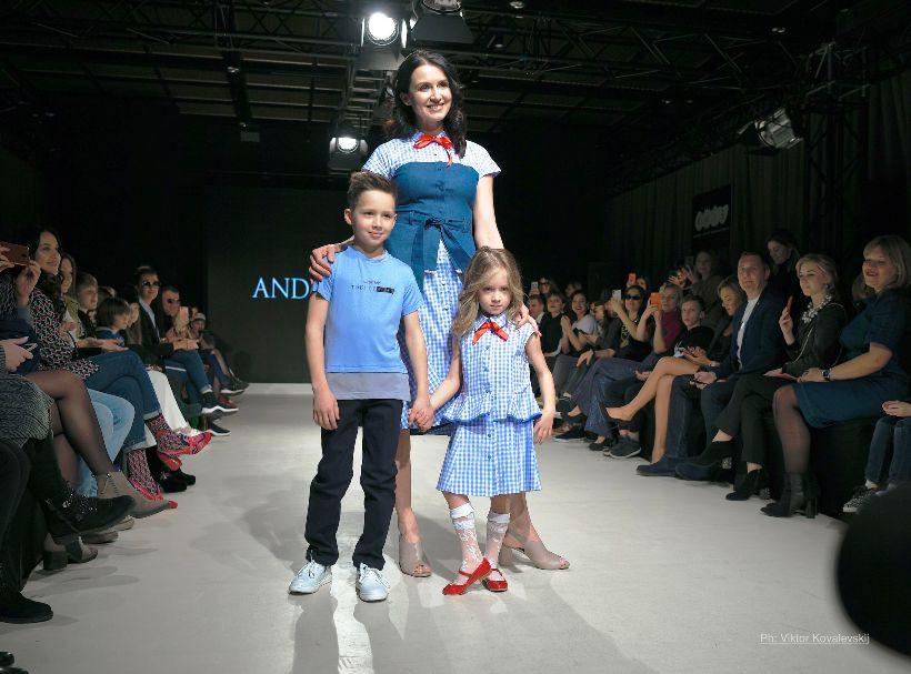 зоряний показ мод Андре Тана