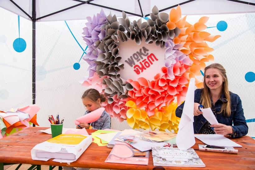 творческие занятия на фестивале архитектуры