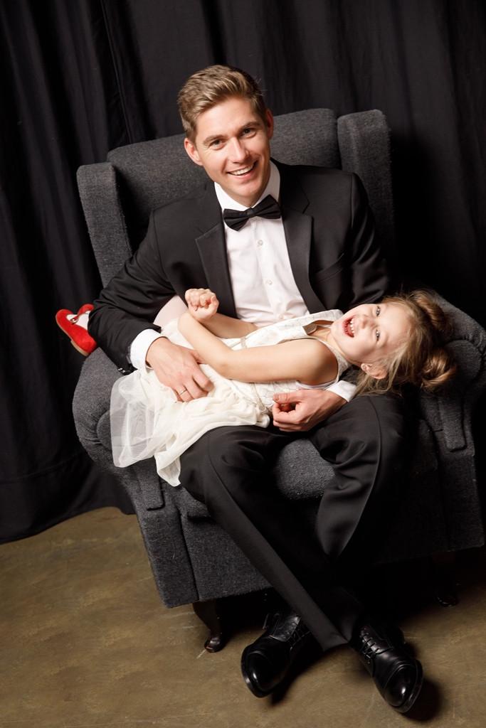 Владимир Остапчук и дочь