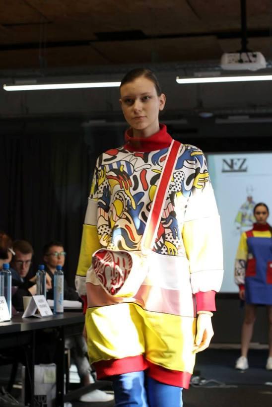 дизайнерская одежда в стиле поп-арт