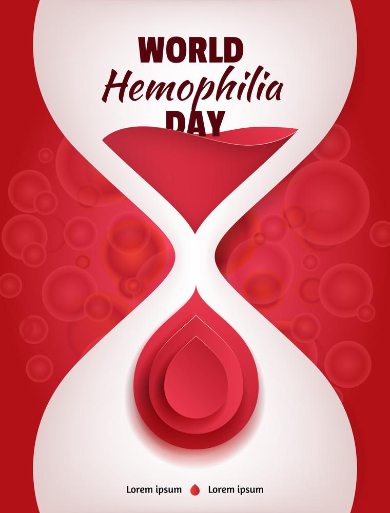 день гемофіліх- підсвіти червоним
