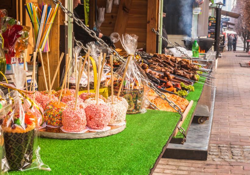 пасхальные праздники в киеве - пирогово