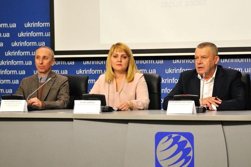 пресс конференция в Бердянске