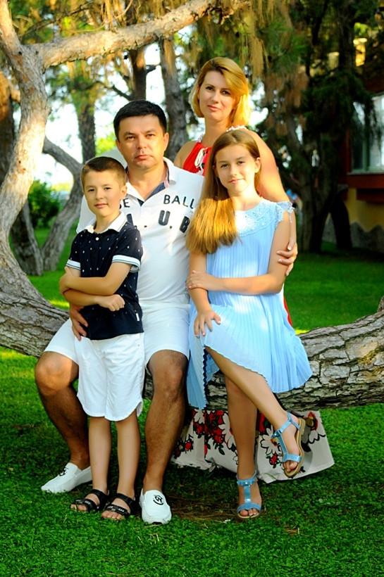 семья Алексея Бебешко