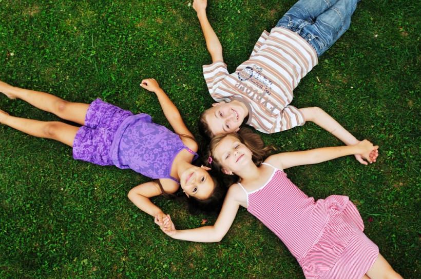 дети на летнем  отдыхе