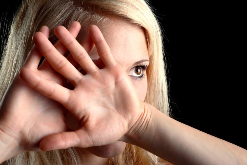жінка - жертва домашнього насильства