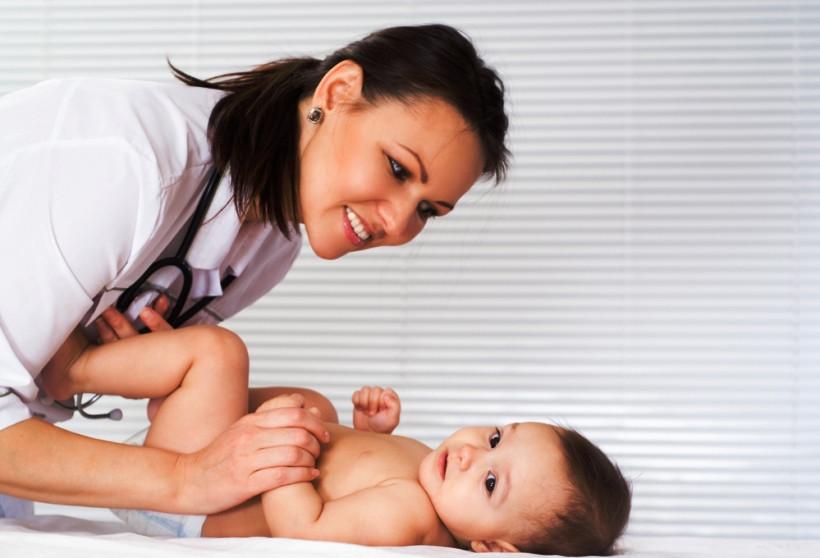 обследование младенца на наличие желтухи