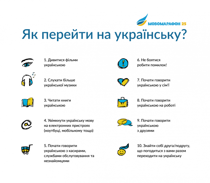 Учим украинский язык