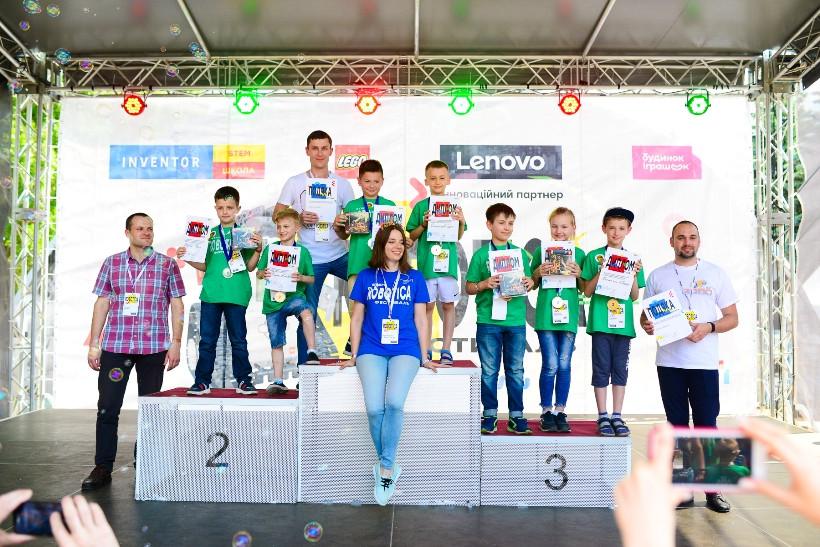 победители фестиваля  ROBOTICA