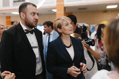 Александр Элькин - Эдкемп -  и Лилия Гриневич - министр МОН