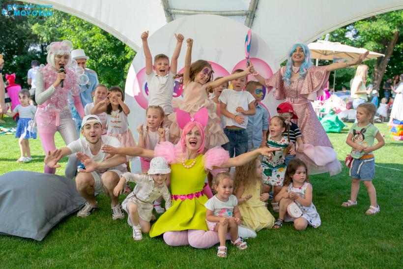 Bubble kids - развлечение на Тато року