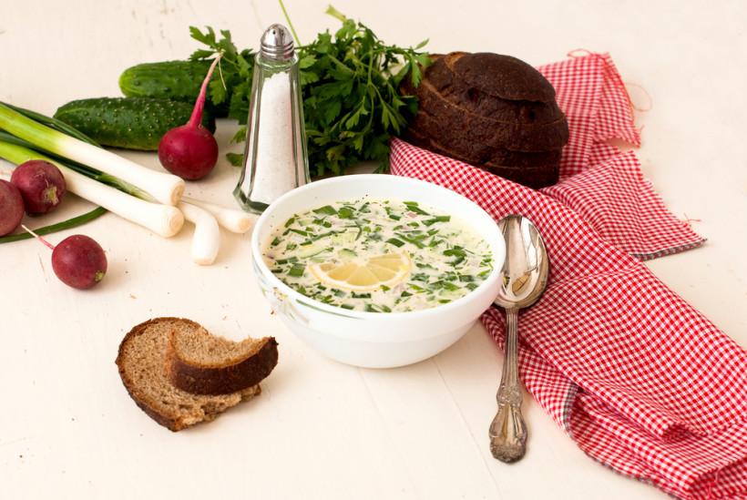 Узбекский холодный суп «Чалоп»