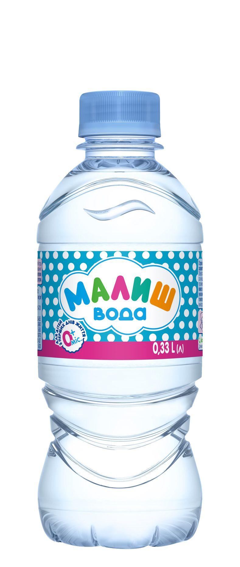 Малиш - вода для детей