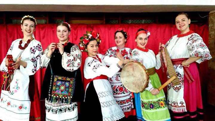 Украинская музыка на Дарынке на Ивана Купала