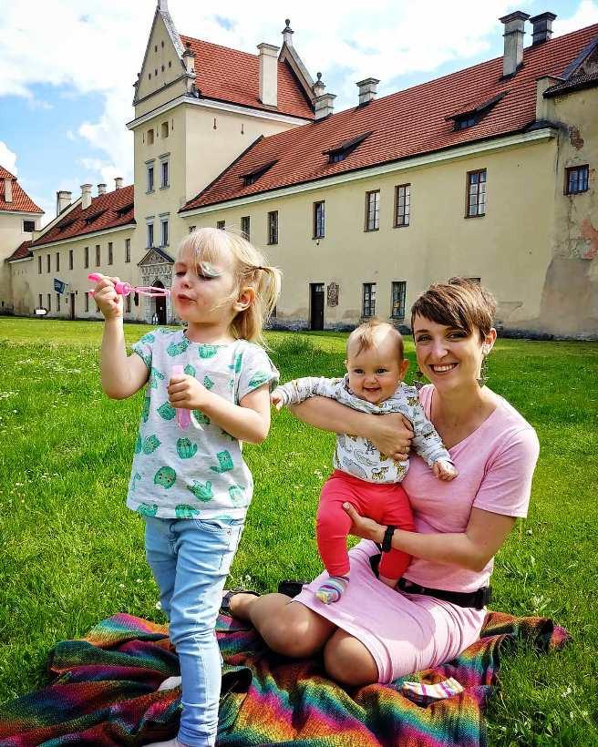 Марианна с дочками
