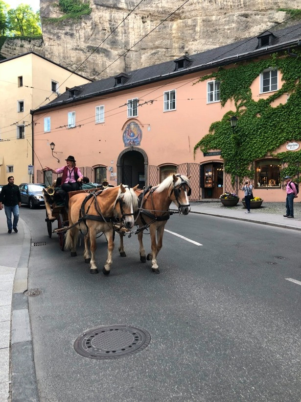 улицы Зальцбурга