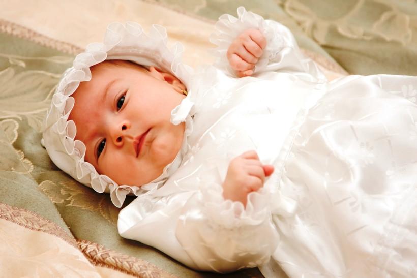 крестины малыша