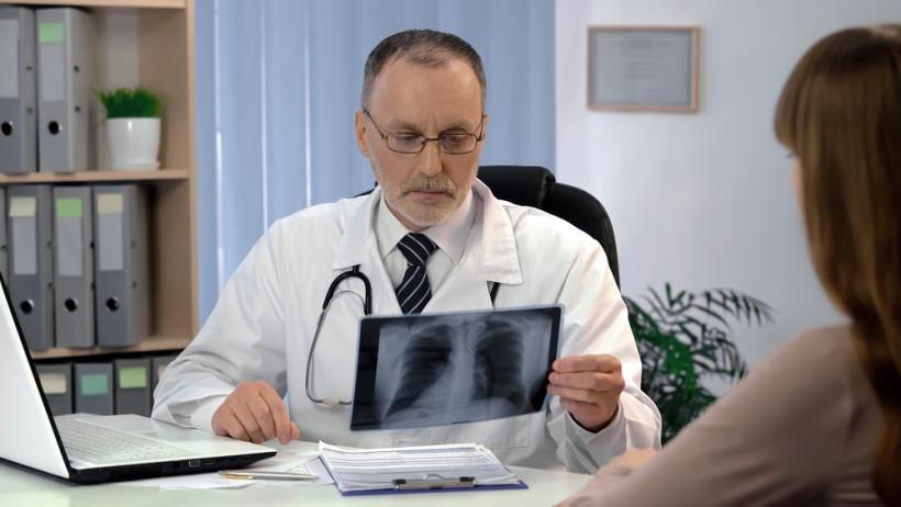 доктор обнаружил туберкулез