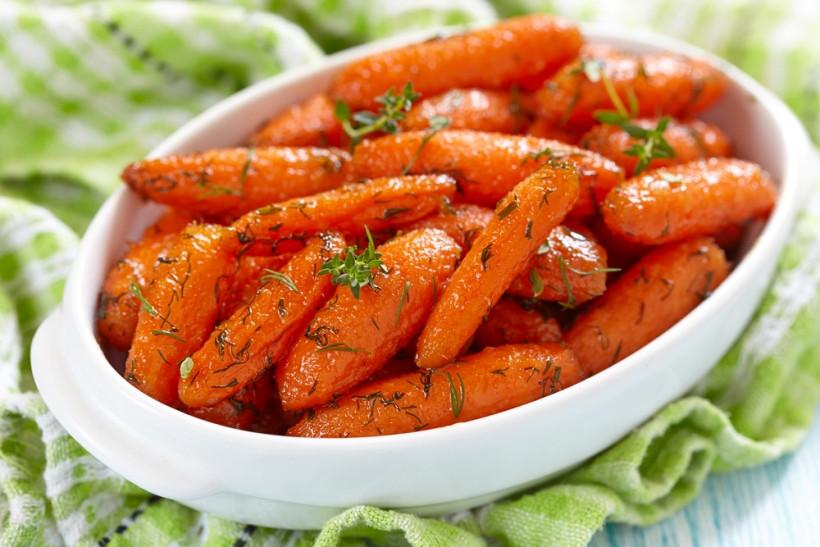 морковь запеченная