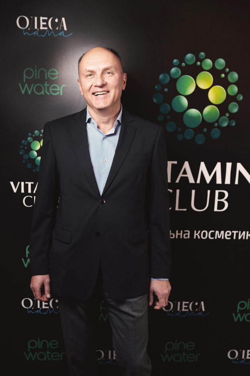 Основатель бренда VitaminClub - Александр Гиренко