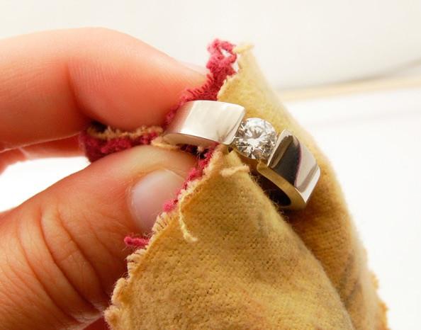 Чистим кольца