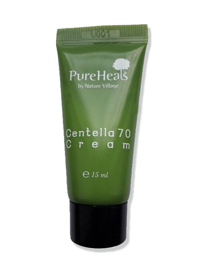 Восстанавливающий крем для кожи лица Pureheal's с экстрактом центеллы, 15 мл (миниатюра)