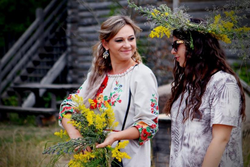 Праздник Ивана Купала в Парке Киевская Русь под Киевом