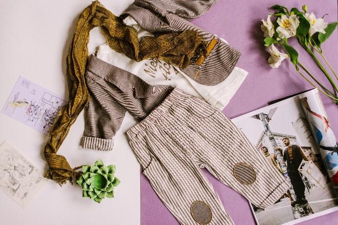 Детская одежда с модными принтами на Дарынке