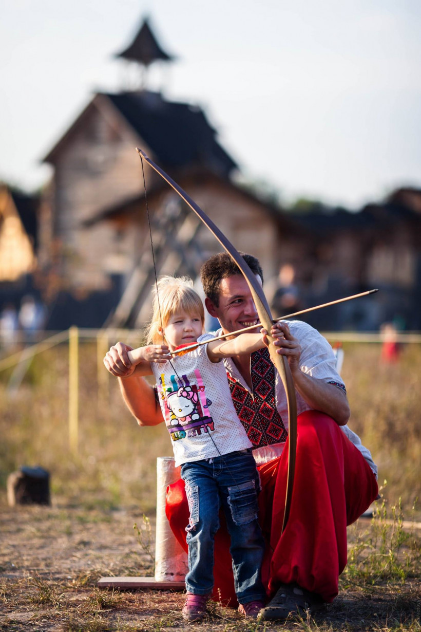 Стрельба из лука Киевская Русь