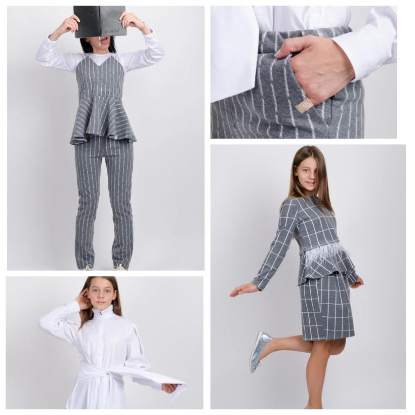 Одежда в школу - варианты школьной формы от Андре Тана