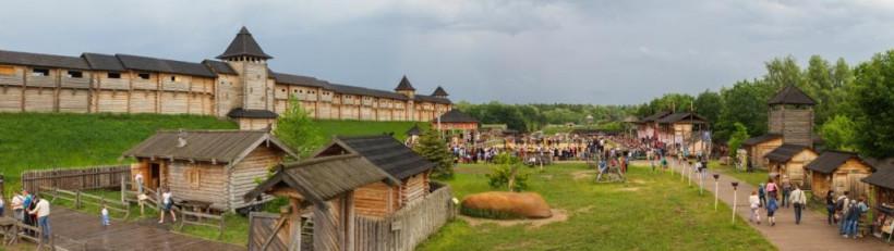 Древний Киев в Парке Киевская Русь - фото